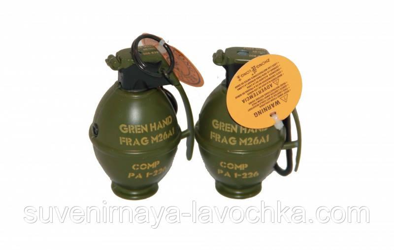 Зажигалка газовая граната маленькая 7