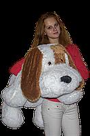 Мягкая игрушка Собака Шарик 110 см. белый