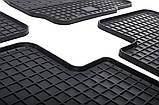 Резиновые передние коврики в салон Mitsubishi Outlander II (XL) 2006-2012 (STINGRAY) , фото 4