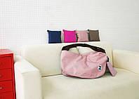 Летняя женская сумка складывается компактно с длинными, регулируемыми ручками
