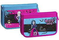 Пенал школьный МУЛЬТЯШКИ для девочек на 2 отделения картонный  Scare Fairy 7320