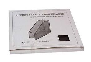 Лоток для бумаги метал. вертикальный 1 секция А-307