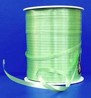 Лента для декора, светло-зеленая, (цена за 1 метр)