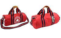 Сумка спортивная Converse ALL STAR коричневый Красный