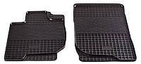 Резиновые передние коврики для Mitsubishi L200 IV 2011-2015 (STINGRAY)