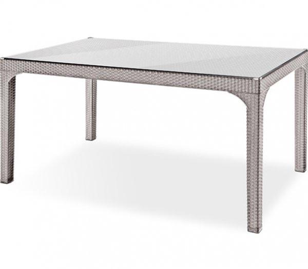 Ротанговый стол + стекло Olympia