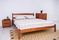 Кровать деревянная Лика без изножья одно- и двуспальная / Ліжко дерев'яне Ліка без ізножжя одно- та двоспальне