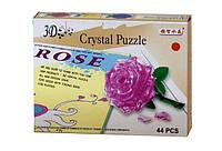 ПАЗЛЫ кристалические 3D РОЗА  9001