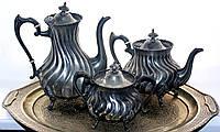 Элегантный чайно-кофейный набор.Клеймо!Англия, фото 1