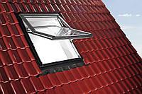 Мансардное окно с поднятой осью поворота Designo R7