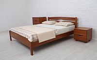 Кровать деревянная Лика Люкс одно- и двуспальная / Ліжко дерев'яне Ліка Люкс одно- та двоспальне
