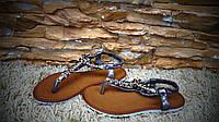 Босоножки - сандалии в камнях