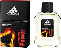 Одеколон, Adidas Extreme Power 100ml! Приятный фужерно древесный аромат!