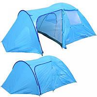 Палатка туристическая 4-х местная coleman 1009, фото 1