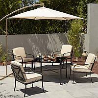 Зонт садовый 3.0M Leanover Parasol Linen, фото 1