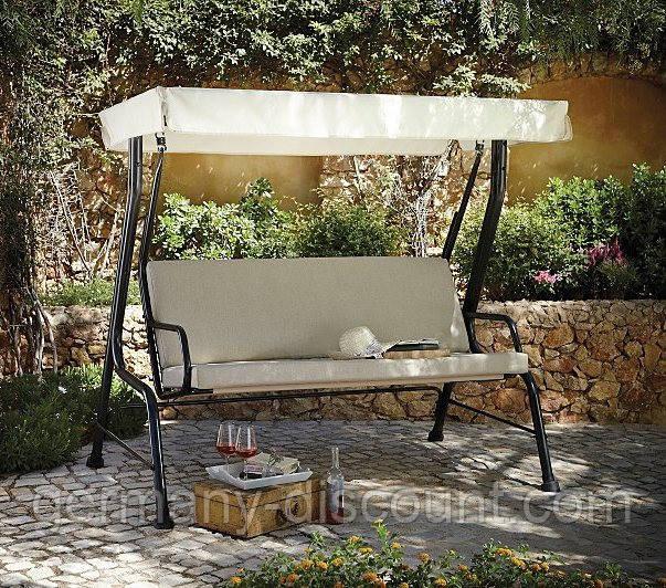 Качели садовые Haversham Classic Garden Swing Seat in Linen
