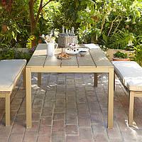 Набор садовой мебели Grace Dinning Set in Dark Linen 3 piece, фото 1