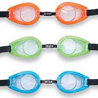 Набор детских очков для плавания Intex 55612от 8лет, очки для плавания и ныряния Intex, плавательные очки