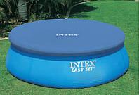 Тент для надувного круглого бассейна Intex 28021 (58938) 305см, чехол для бассейна, тент бассейна intex 305