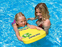 Дocкa для плaвaния детская Intex 59168 42*30см, детская доска пластиковая для плавания, доска для бассейна