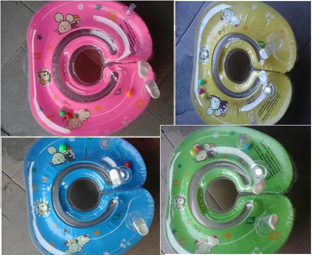 Круг для купания на шею BT-IG-0017 (TS-1239-2) 4 цвета, круг для купания младенцев, круг для малышей - Интернет-магазин Как Дома в Киеве