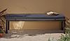 Скамейка Grace Classic Bench - Charcoal & Grey
