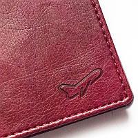 Обложка для паспорта Air - винный