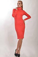 Теплое платье из ангоры Чулок цвета:   коралл   шоколад