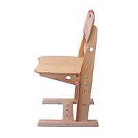Детский регулируемый стул из дерева (береза, до 60кг)