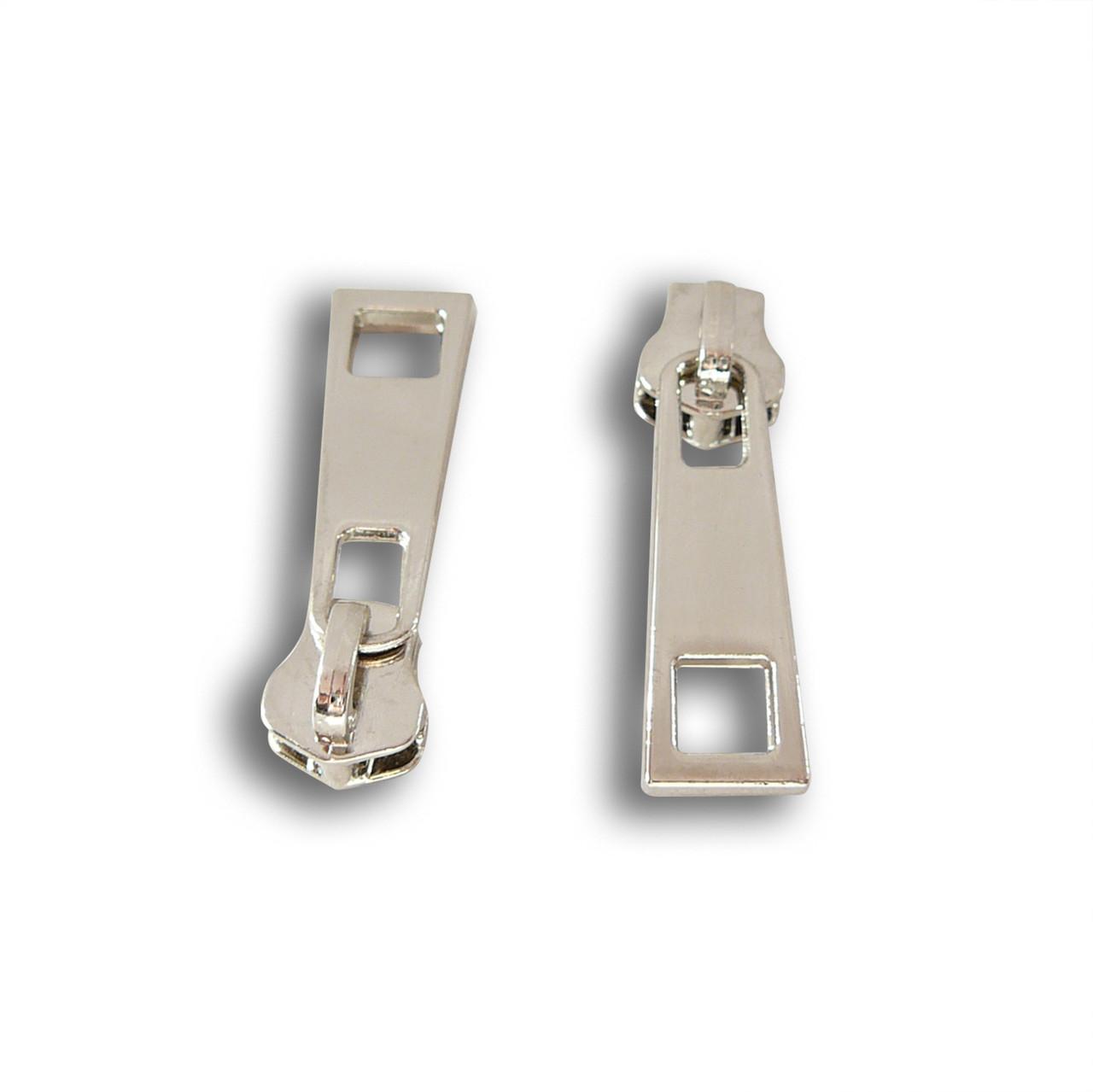 Бегунок метал 5, без фиксатора (никель) М3210