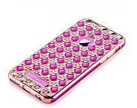 "Чехол TOTU Jade Dazzling 3D для iPhone 6/6S (4,7"") Rose Gold"