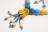"""Слингобусы Ярмирина """"Дивоцвет Желто-Голубой"""" бук, коллекционные, фото 2"""