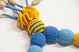 """Слингобусы Ярмирина """"Дивоцвет Желто-Голубой"""" бук, коллекционные, фото 4"""