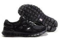 """Кроссовки мужские Nike Free Run 2.0 """"Черные"""" р. 40, 41, 43, 45"""