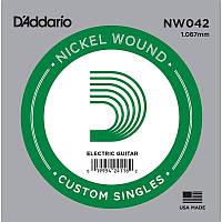 D'Addario NW042 Nickel Wound 042