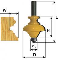 Фреза кромочная фигурная мультипрофиль, хв.12мм (арт.10571)
