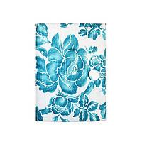 Декоративный блокнот ручной работы Allure blue A6
