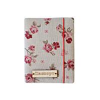 Обложка на паспорт Red Rose