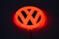 Эмблема фольксваген, светящаяся задняя эмблема Volkswagen | Фольксваген 4D