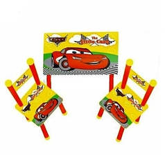 Детский стол и 2 стульчика Bambi М 0292 Тачки