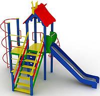 """Детский комплекс Kidigo """"Маяк"""" высота горки 1,5 м"""