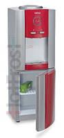 Напольный кулер для воды с электронным охлаждением HotFrost V730 CES Red