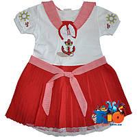 """Детское  платье """"Морячка"""" , для девочки от 1-2-3 лет"""