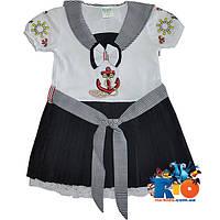 """Детское  платье """"Морячка"""" , для девочек от 1-2-3 лет"""