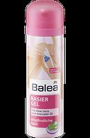Balea Rasiergel mit Aloe Vera und Avocado-Öl, 150 ml - Гель для бритья женский с алое вера и маслом авокадо