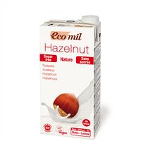 Молоко из фундука без сахара, ТМ EcoMil, 1 л