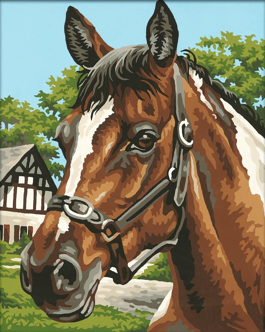 Картина по номерам «Schipper» (9240381) Лошадь, 24х30 см