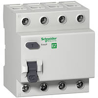 Дифференциальный выключатель (УЗО) Easy9 EZ9R34425, 4P 25А 30мА