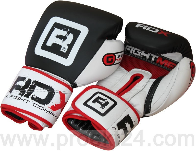 Боксерские перчатки RDX Red Pro-10oz