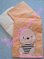 """Сменное постельное белье Bepino """"Мишка в тельняшке"""", фото 1"""